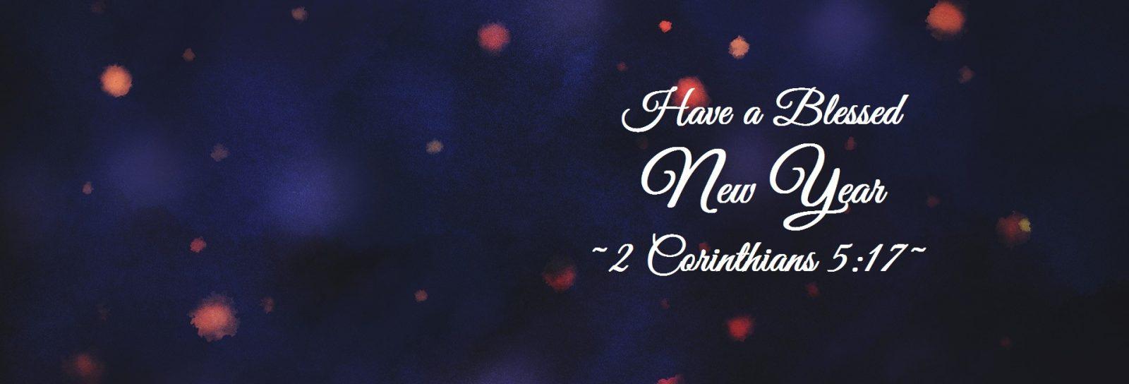 new year website banner