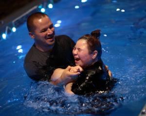 Shay baptism